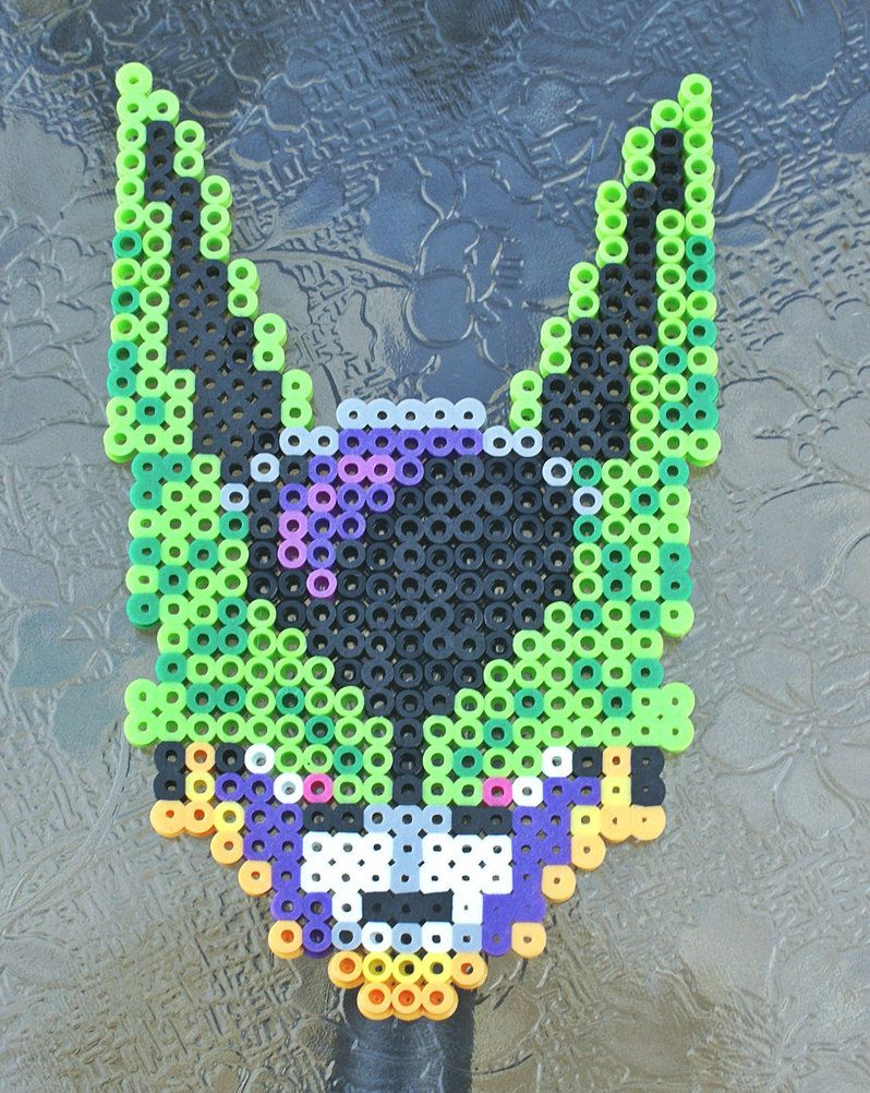 Cell DBZ perler beads by ZombieLolitaPrincess | Perle Hama & Pixel ...