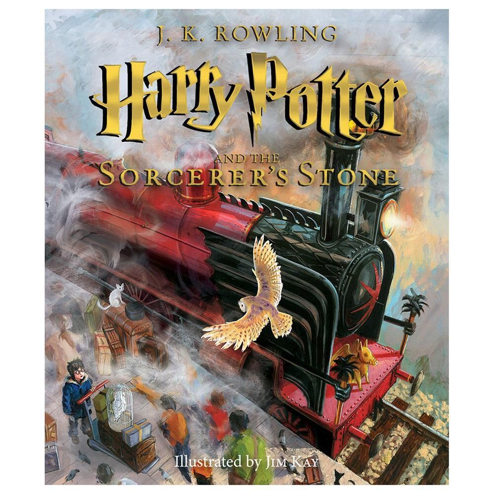 Harry Potter And The Sorcerer S Stone The Illustrated Edition In 2020 Harry Potter Illustrations Harry Potter Gifts The Sorcerer S Stone