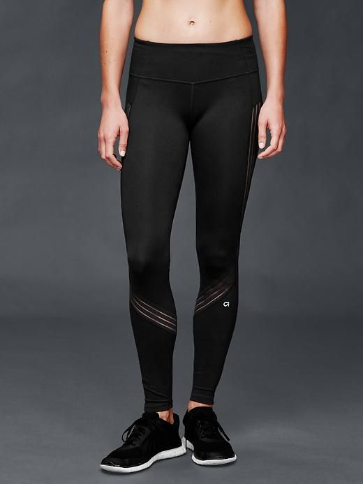 fe572c8155a75 GapFit Blackout Technology gFast stripe leggings | Gap - $64.95 ...