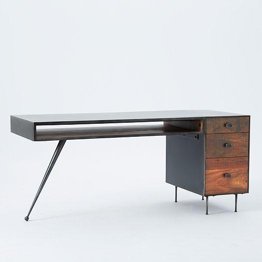 Lloyd Desk West Elm Modern Home Office Furniture Office Furniture Modern Furniture