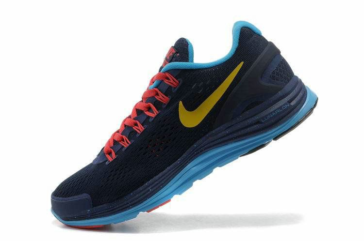 a58e5d869944 ... where can i buy authentic new arrival 2018 2019 nike lunarglide 4  chicago marathon obsidian metallic