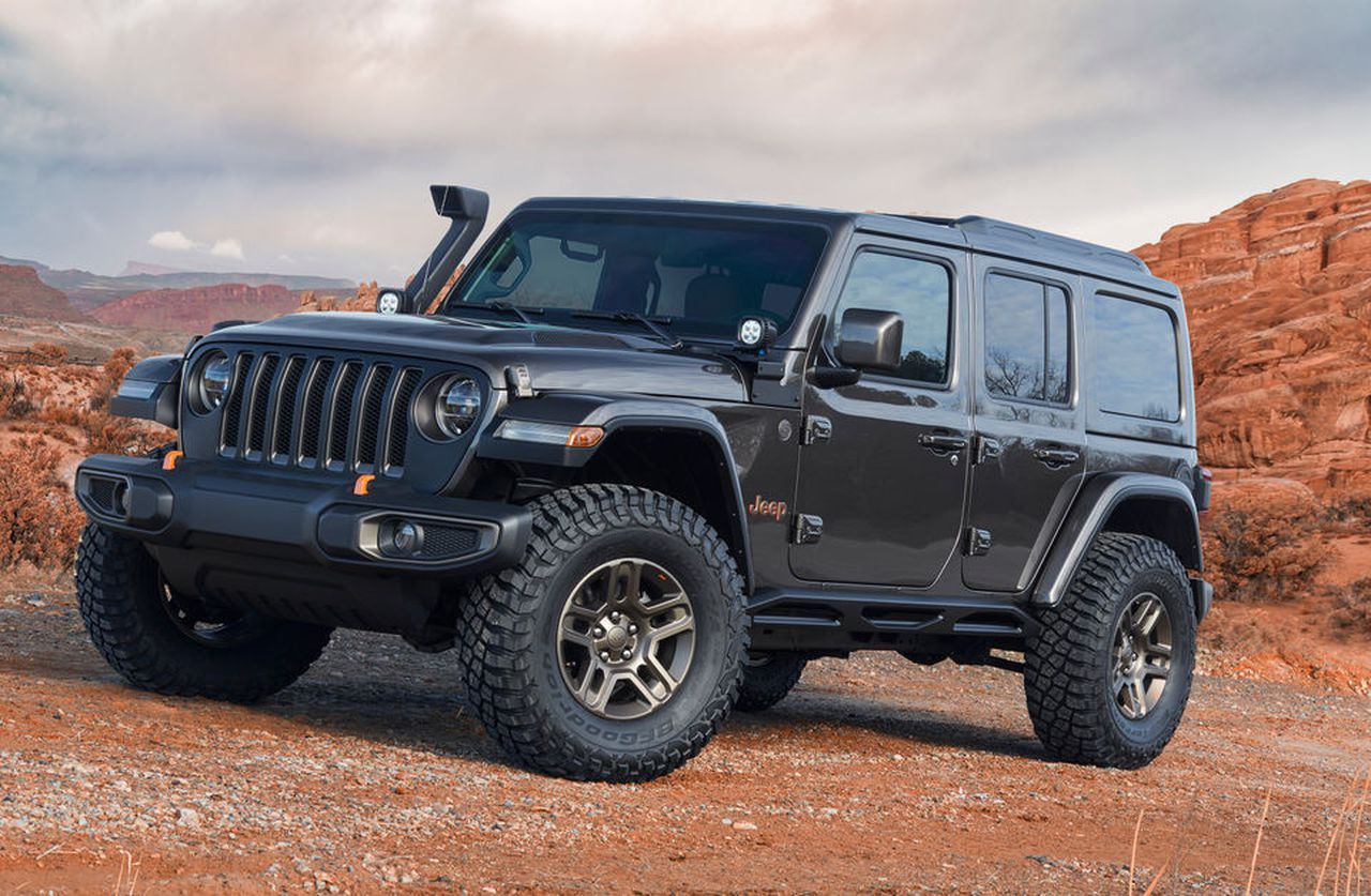 A Closer Look At Jeep S 7 New Decked Out Custom Built Off Road