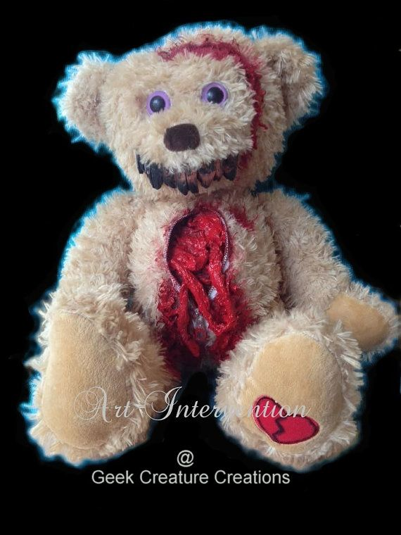 Insides out Gore Bear un-zipped one-off by