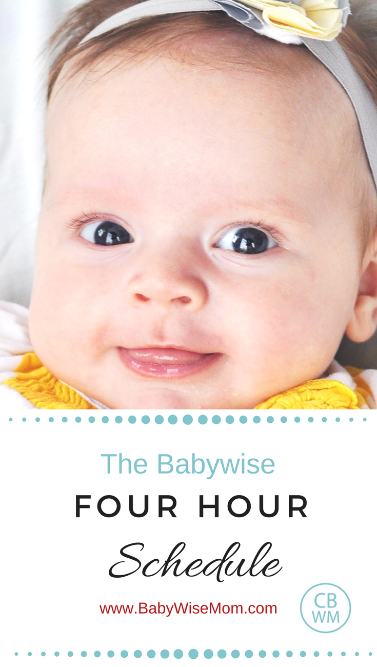 When and How to Move Baby to 4 Hour Schedule   Baby ...