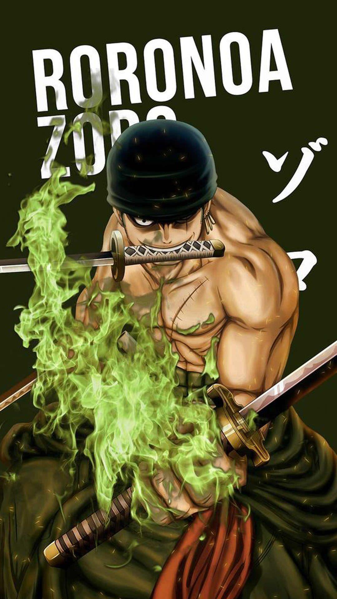 Roronoa Zoro wallpaper 11 Animasi
