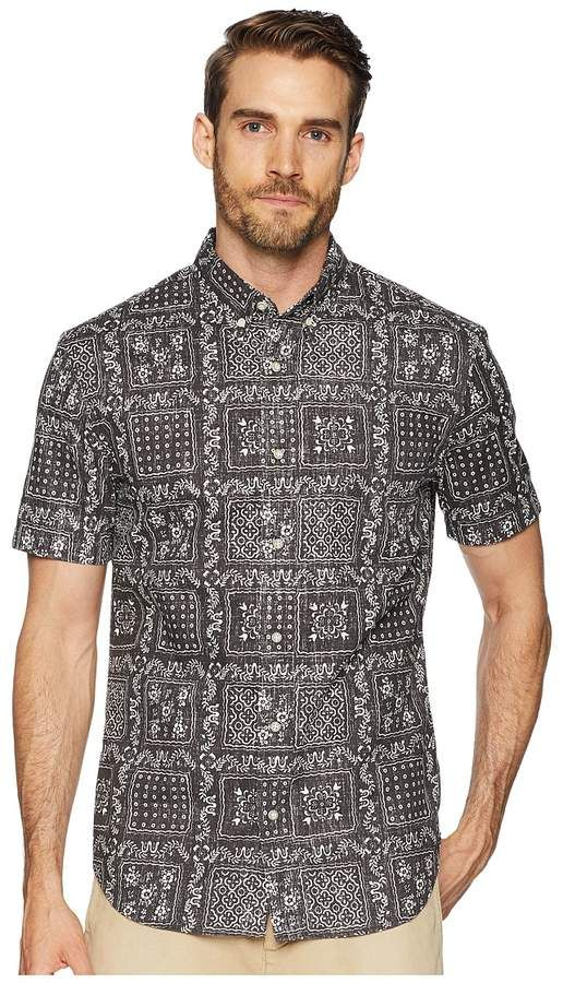 37258dd60d1 Reyn Spooner Original Lahaina Tailored Fit Aloha Shirt Men s Short Sleeve  Button Up