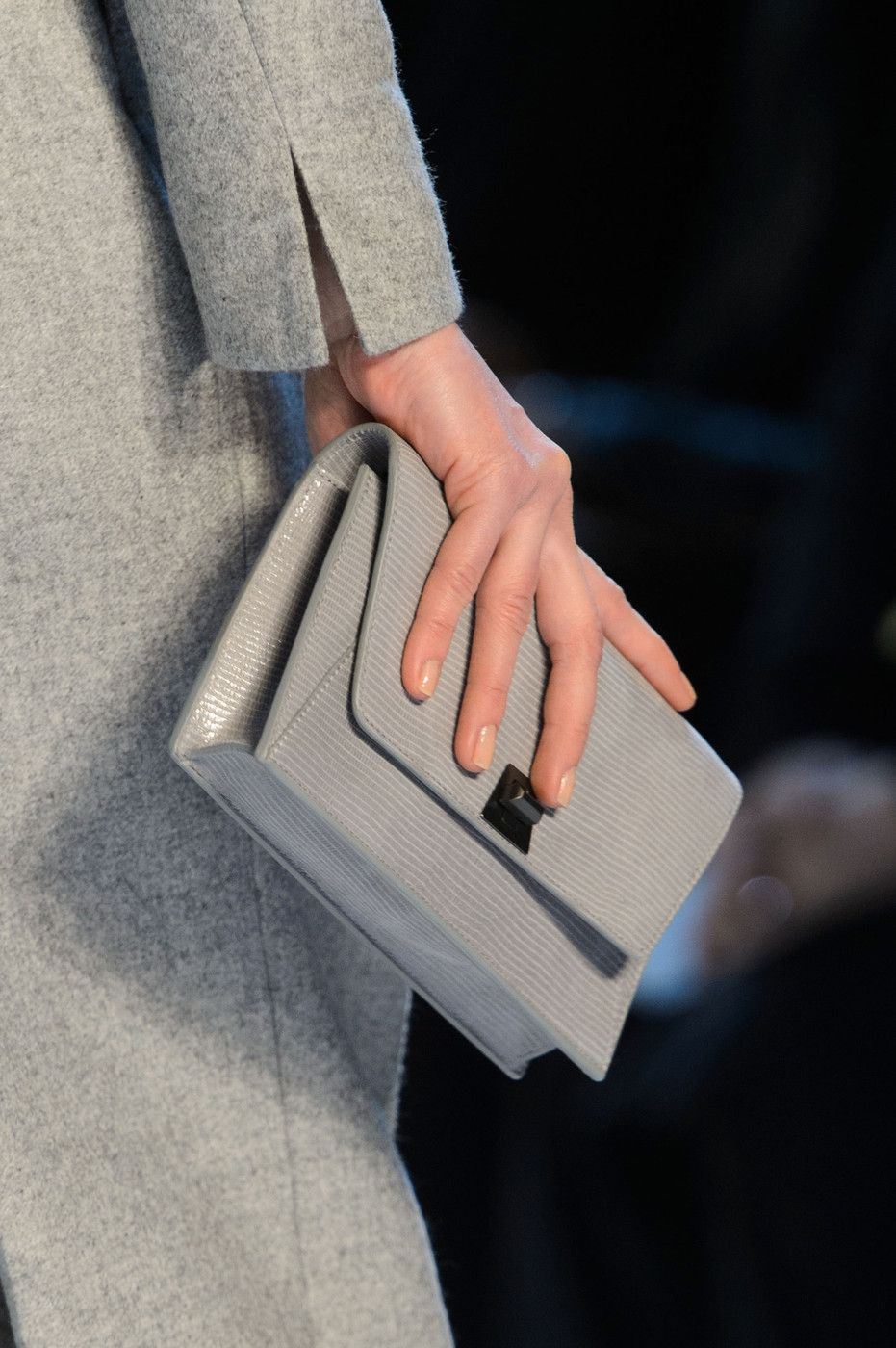 Akris at Paris Fall 2015 (Details)
