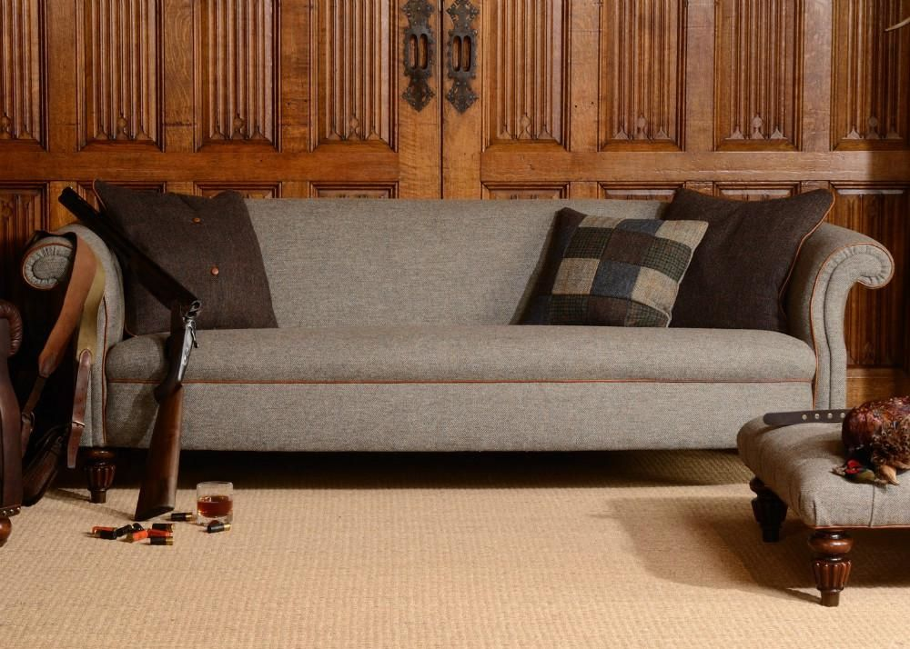 Superior Tetrad Harris Tweed Bowmore Sofa Collection From George Tannahill U0026 Sons
