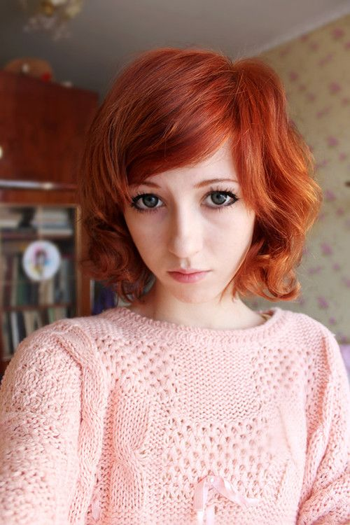 Fuckyeah Hair Cute Short Red Hairstyle Hair Inspiration Color Short Hipster Hair Short Red Hair
