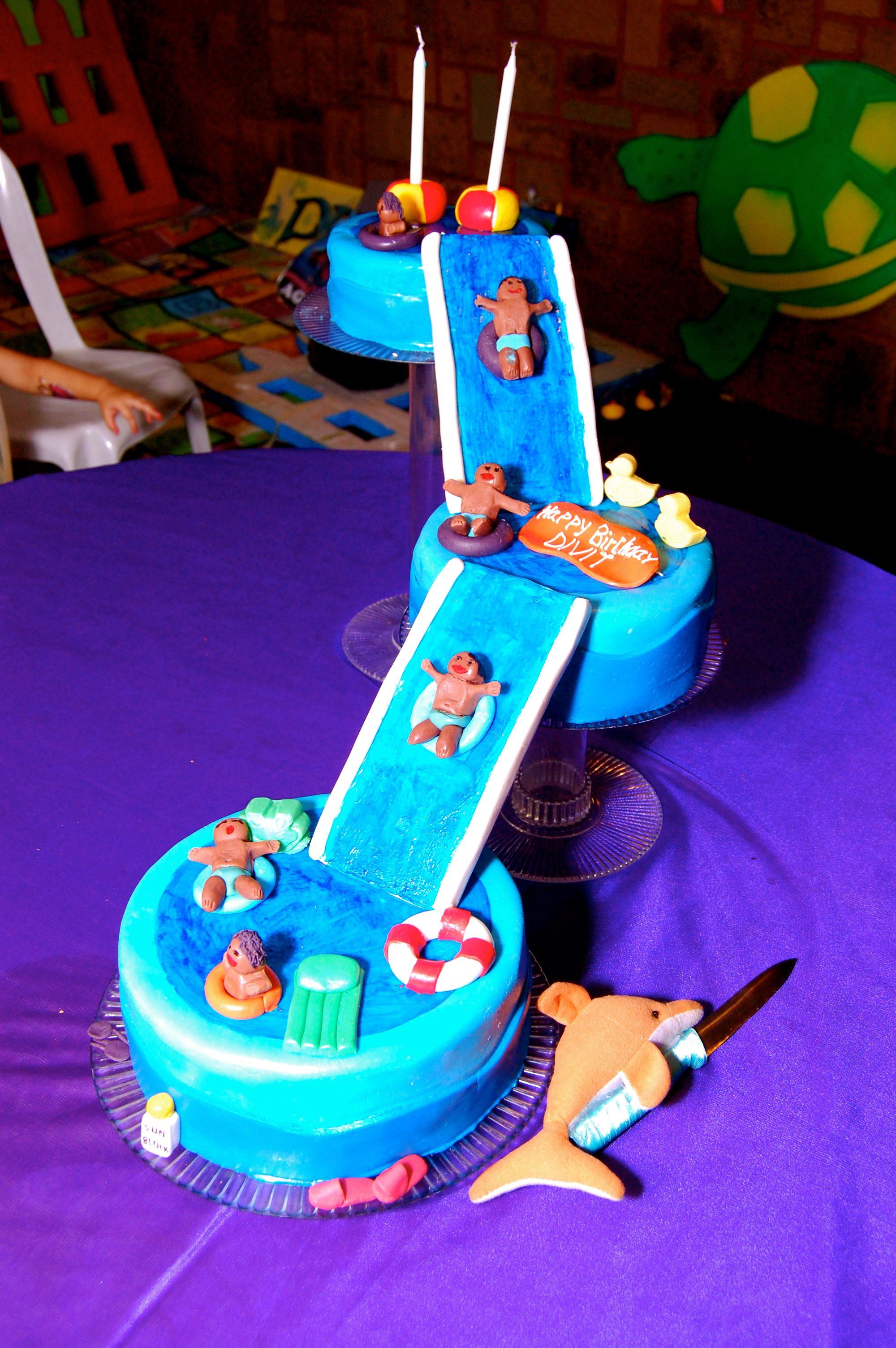 Kids pool party cake party cakes themed cakes cake