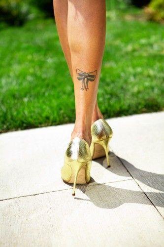 :bow tattoo:
