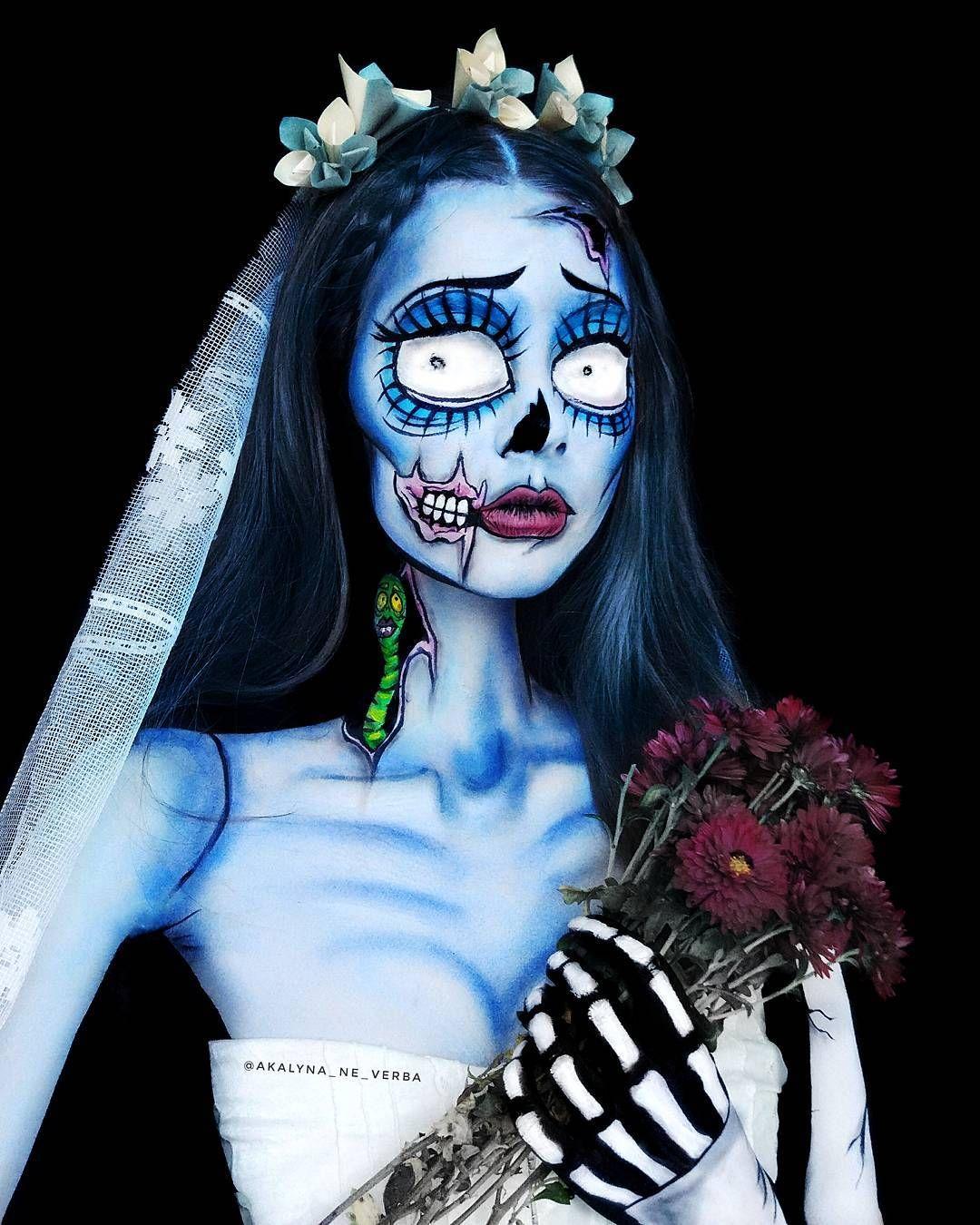 Pin de Byron Ramírez en Halloween Maquillaje de fantasía