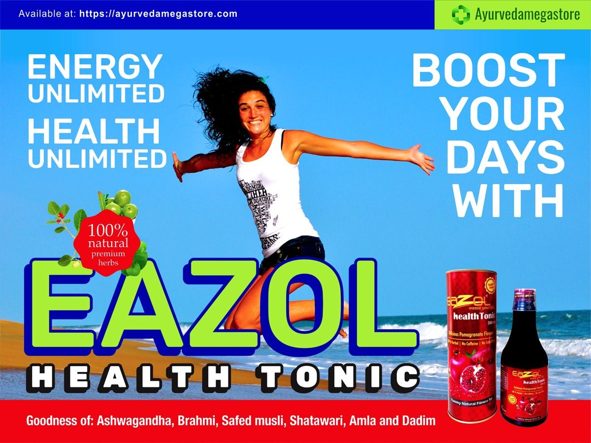 Boost Your Day With Eazol Health Tonic Buy Online Form