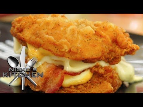 KFC DOUBLE DOWN - Nicko\'s Kitchen (+playlist)   Yummy For The ...