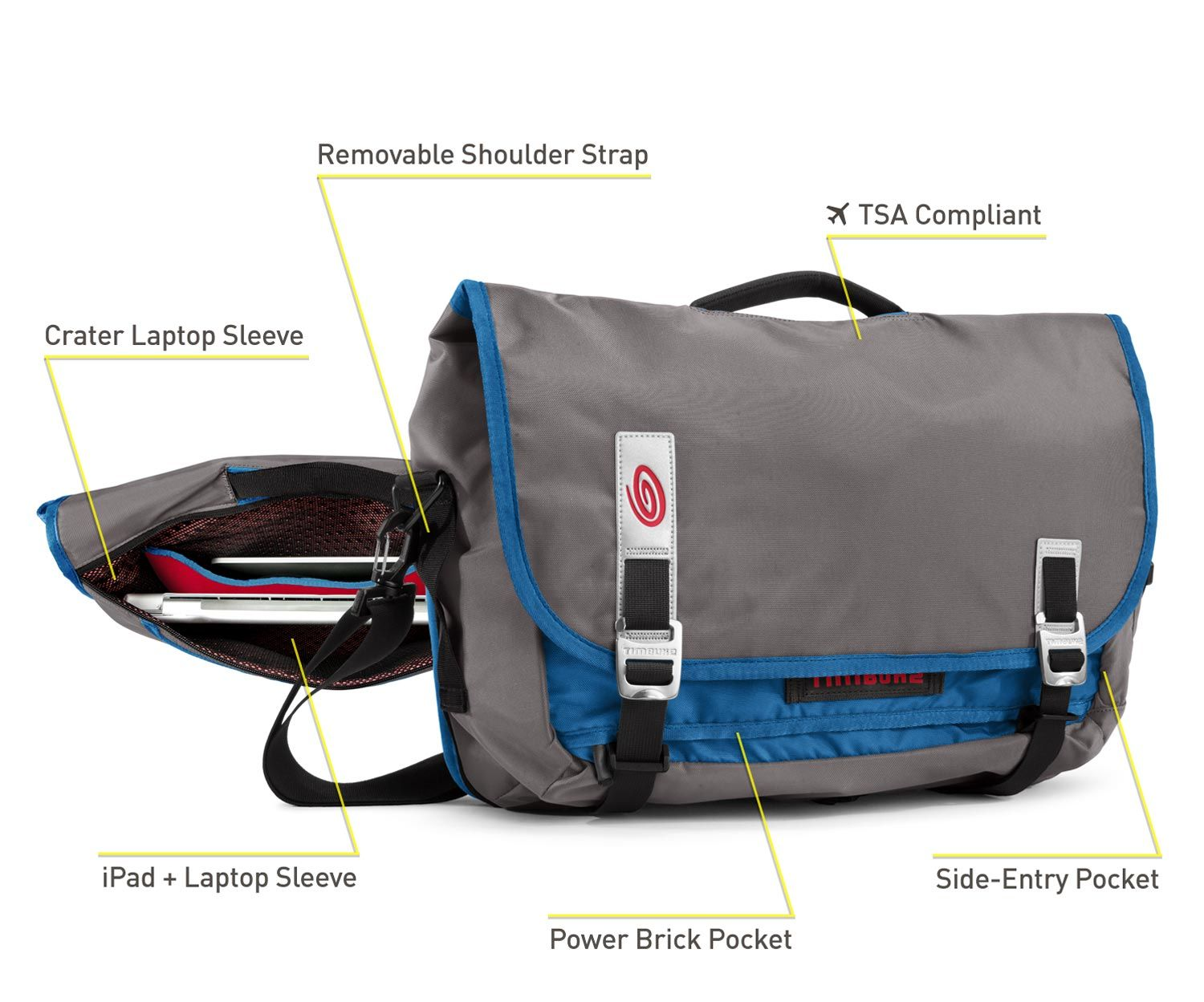 fba27bb3abf3 Timbuk2 Command Laptop TSA-Friendly Messenger Bag