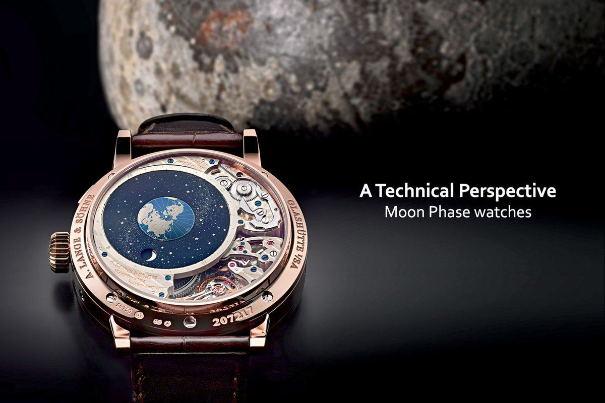 Top 10 Best Moon Phase Watches | Moonphase watch, Monochrome