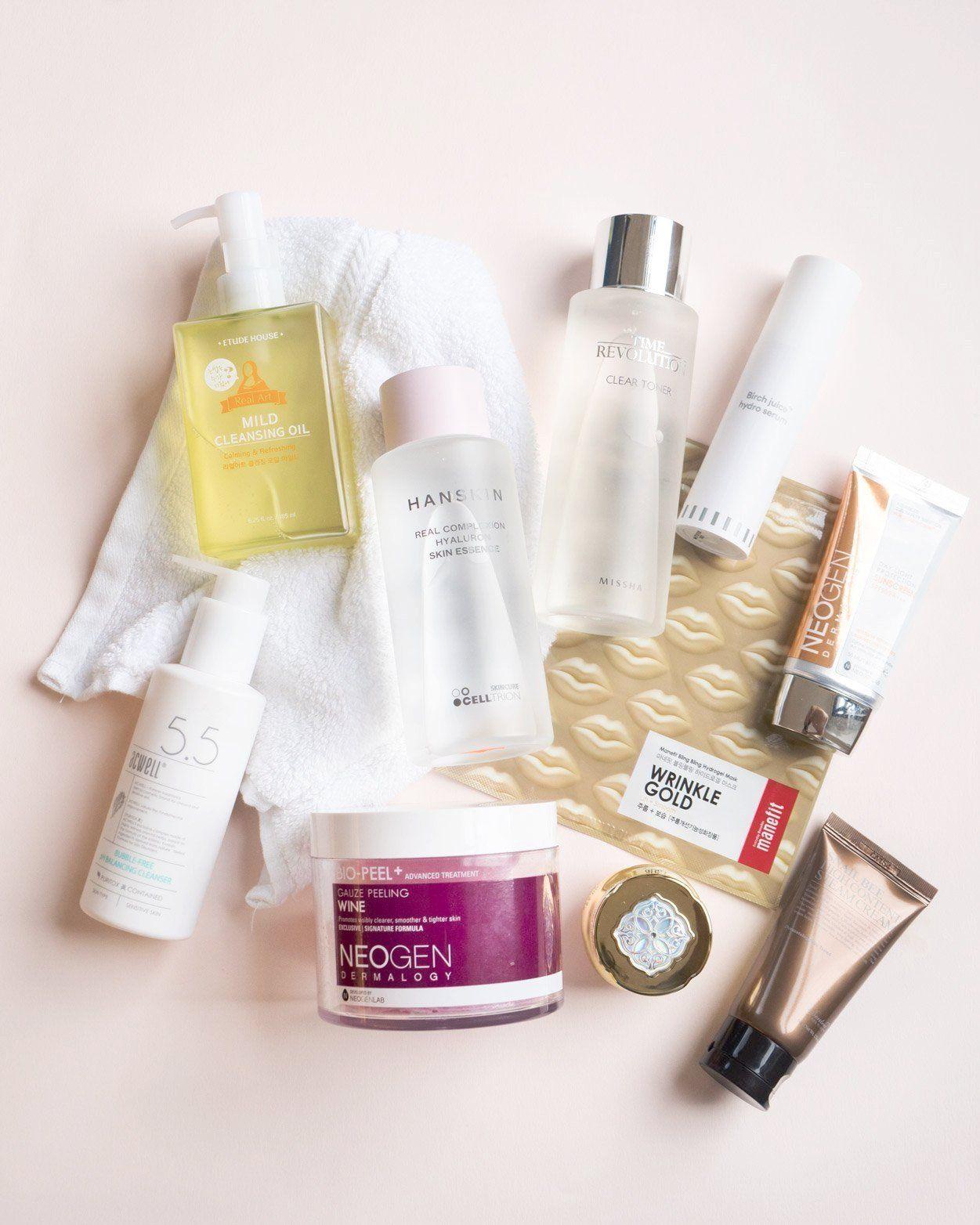 10 Step Korean Skin Care Routine Set For Dry Skin Type In 2020 Korean Skincare Routine Skin Care Routine Steps Diy Skin Care