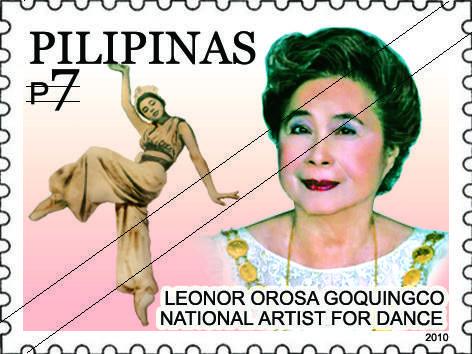 Philippines Stamp Leonor Orosa Goquingco Philippines Stamp Artist
