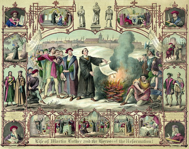the history of the reformation of the catholic church The christian reformed church has its roots in the reformation of the sixteenth century.