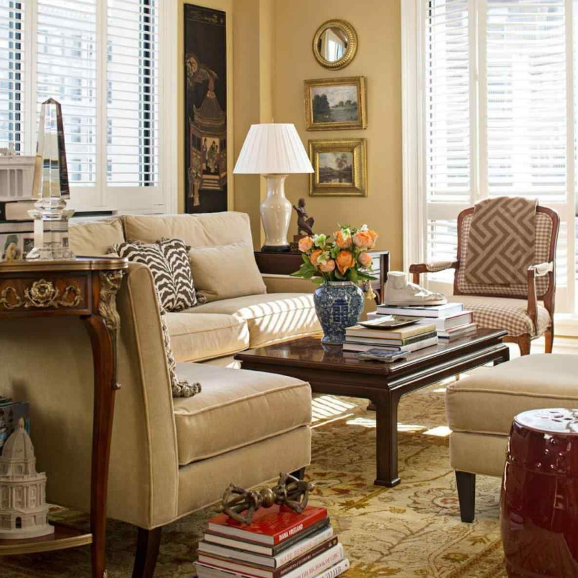 Beau Ballard Designs Sectional Sofa Set Rich Comfortable Upholstered Fabric How  To Match A Coffee Table Your