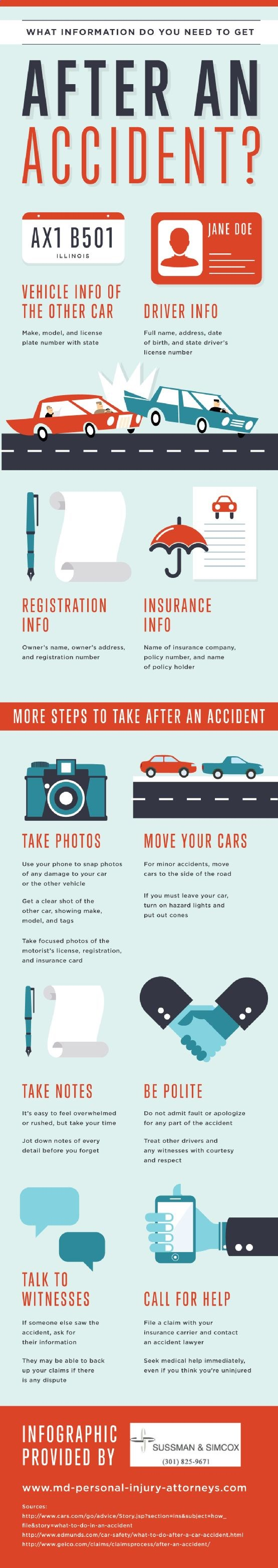 What Information Do You Need To Get After An Accident