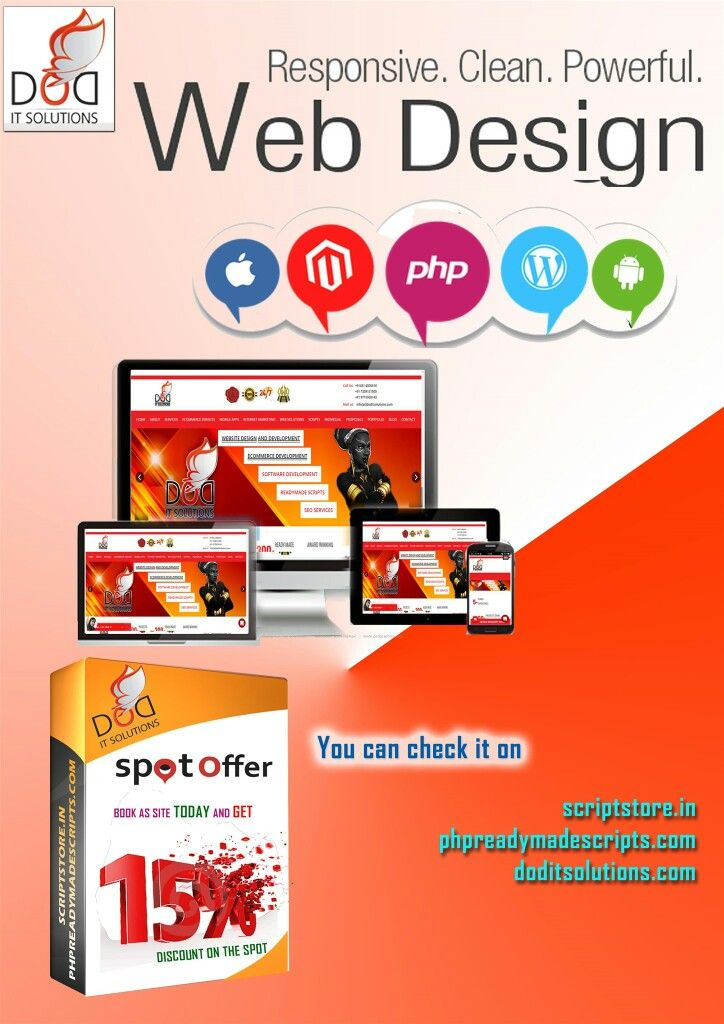 Pin By Dod It Solutions On Ready Made Clone Scripts For Sale Web Design Solutions Design