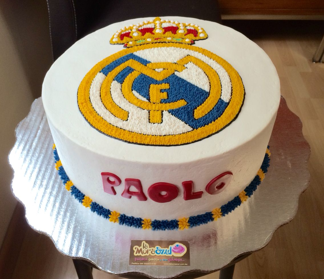 real madrid cake real madrid cake let s go to play football buttercrram 6971