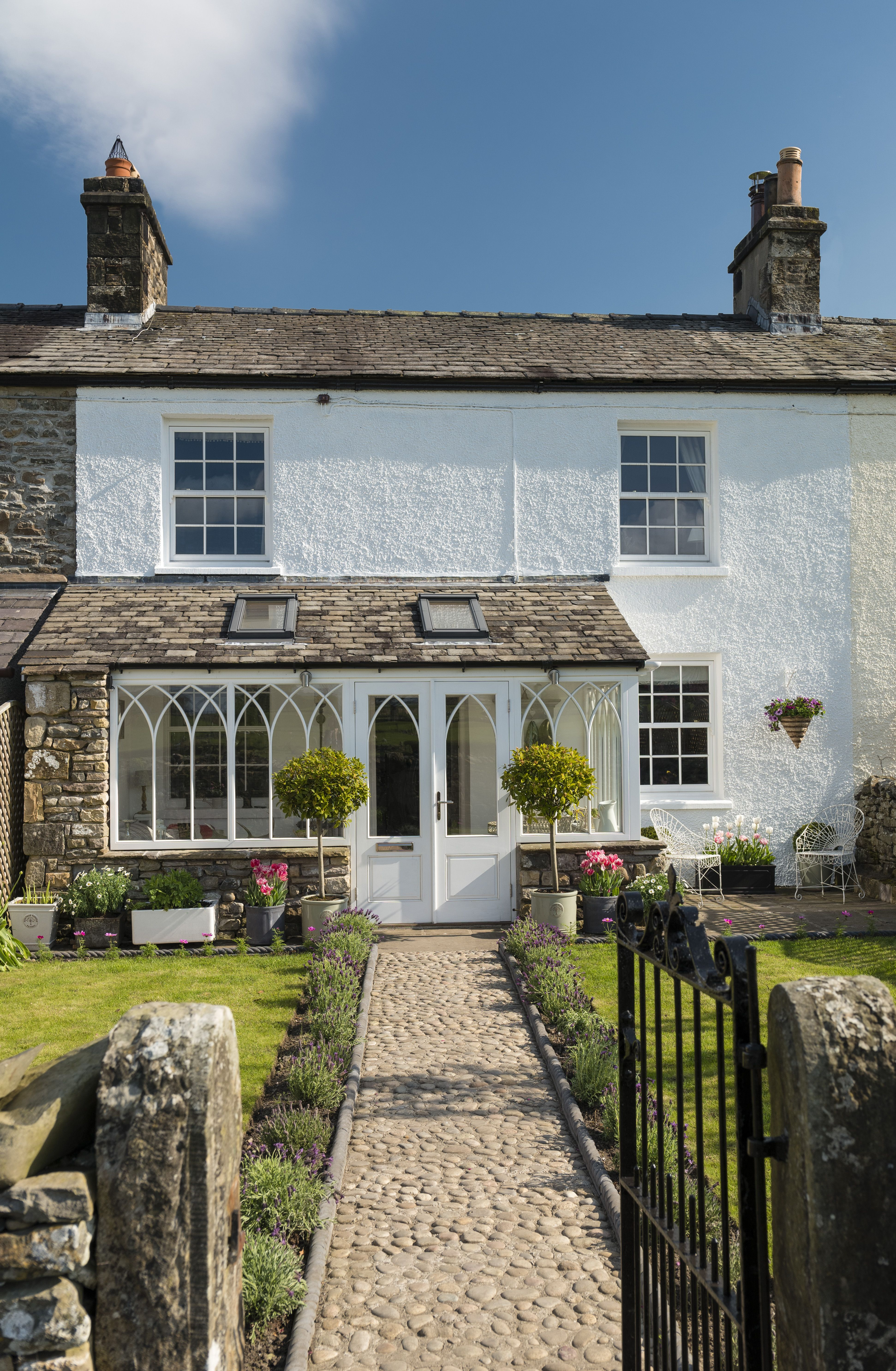 A Beautifully Restored Georgian Cottage Brimming With