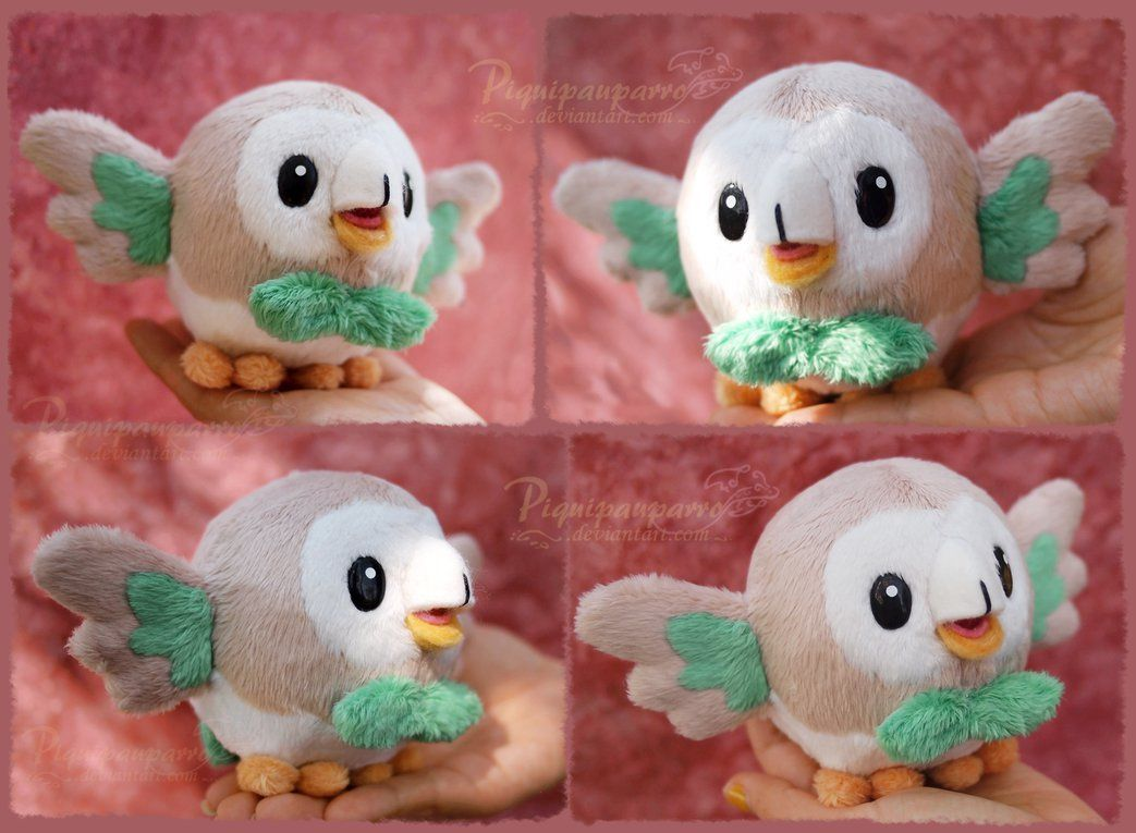 Rowlet - Plush Pattern for sale by Piquipauparro.deviantart.com on ...