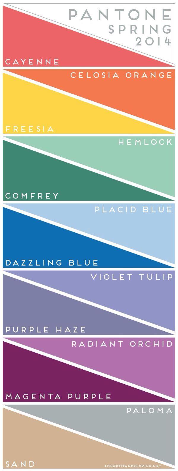 Colour combination color palette pinterest pantone color pantone color report spring 2014 colour inspiration s nvjuhfo Gallery