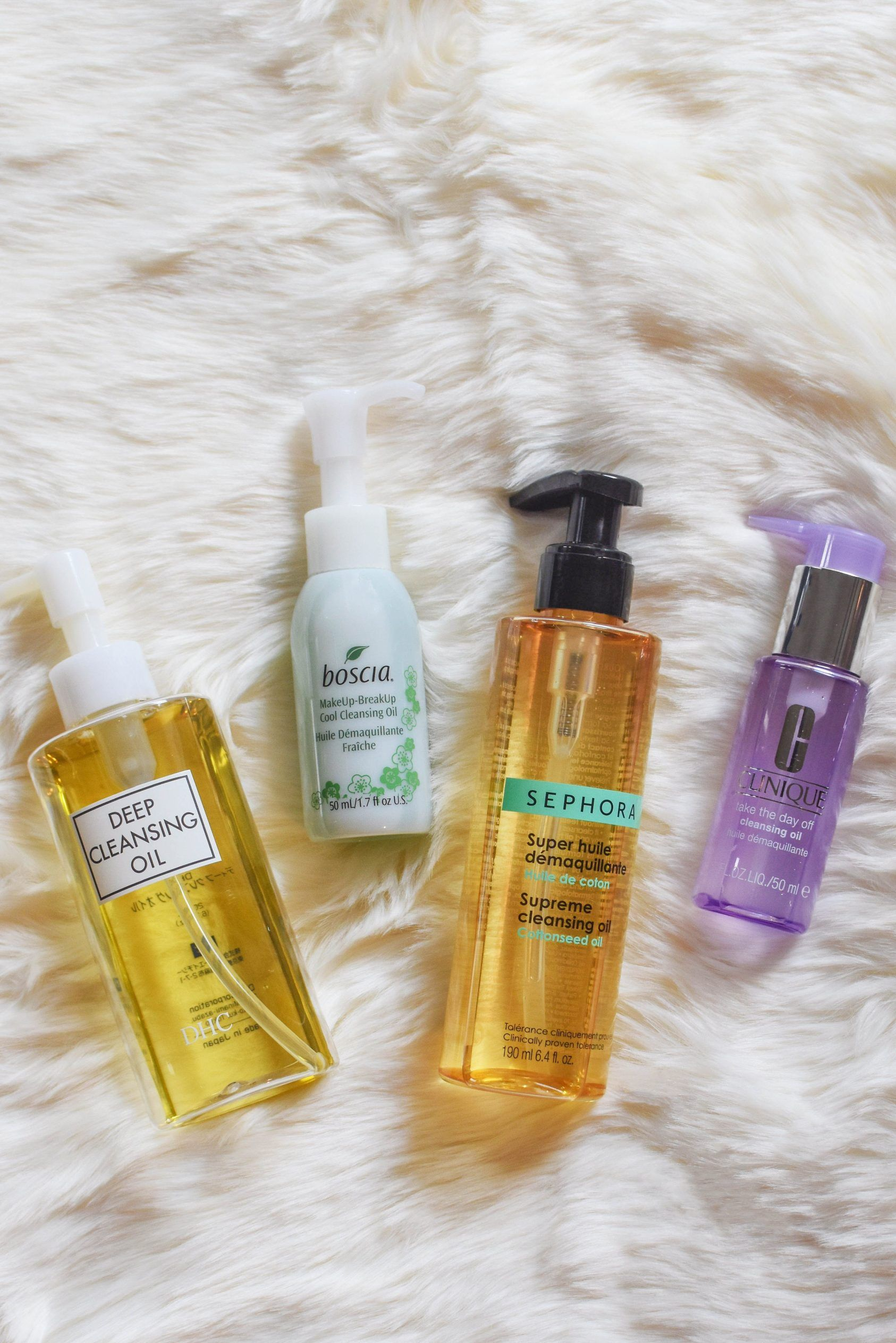cleansing oil for acne