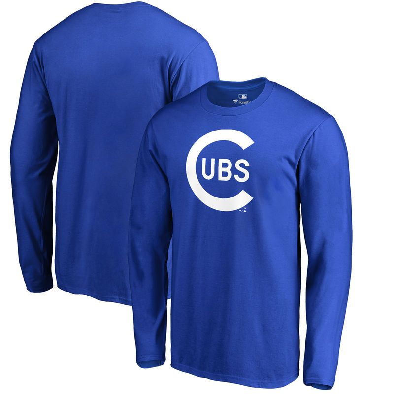 13c888e39 Chicago Cubs Fanatics Branded Big & Tall Cooperstown Collection Wahconah  Long Sleeve T-Shirt - Royal