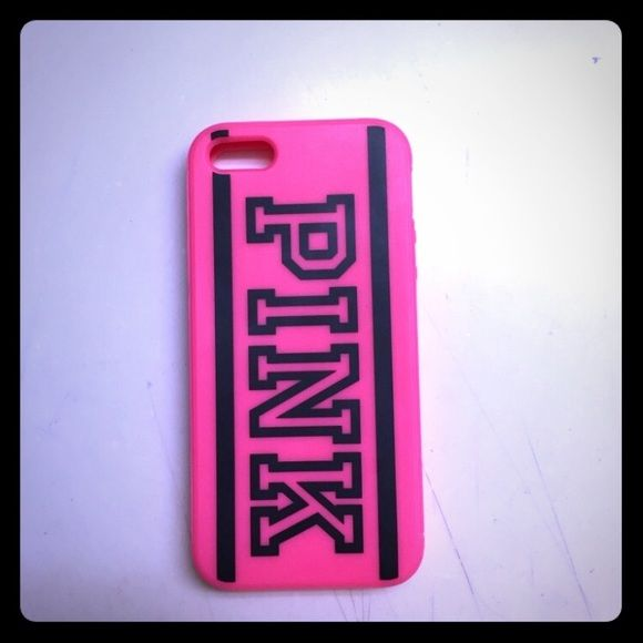 new style 7c149 74c37 iPhone 5/5s gel phone case Great condition. Pink brand. PINK ...