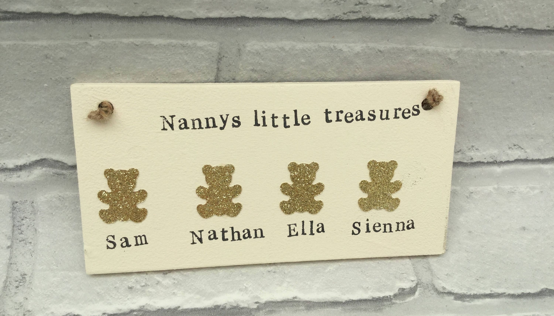 Family sign, Family plaque, Nanny Gift, grandparents sign, grandma ...