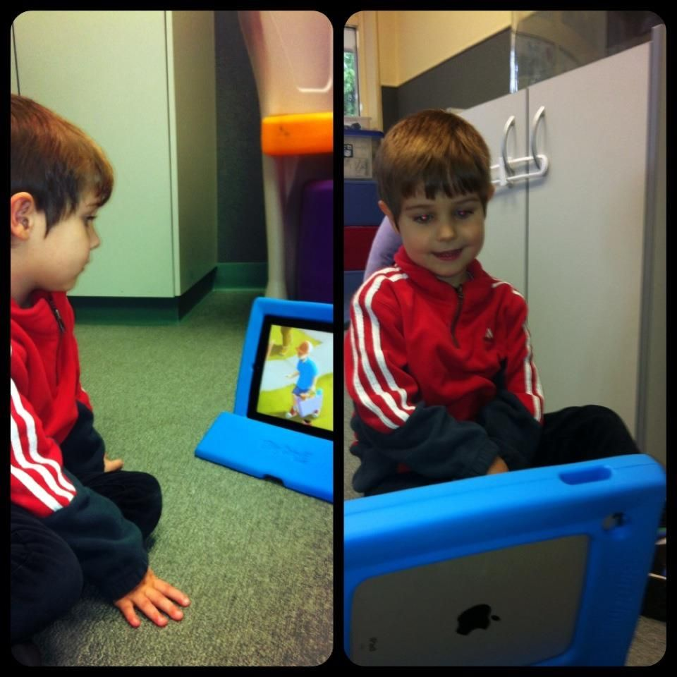 Big Grips Frame and Big Grips Stand for iPad prize finds a happy home at The Briars Special Early Learning Centre in South Australia.