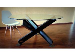 Table Ipn table ipn plateau verre   welding desgin   pinterest   tables