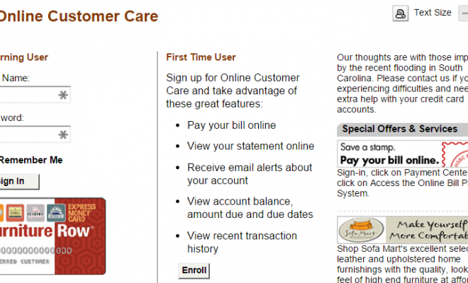 Superb FURNITURE ROW CREDIT CARD PAYMENT U2013 3 QUICK WAYS