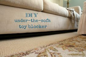 Diy Under The Sofa Toy Blocker