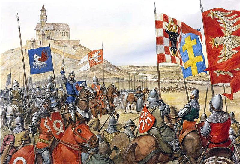 """""""Tannenberg: The stand off at the ford of Kauernick (Kurzetnik), 10 July  1410"""""""