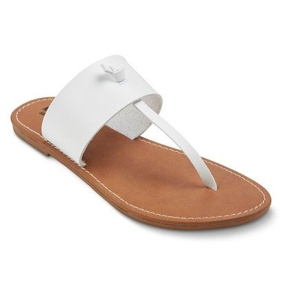 31f1c6a2bb50 Women s Ainsley Knot Thong Sandals - Mossimo Supply Co.™
