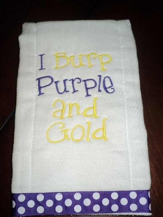 Purple and Gold -- Deepher Baby