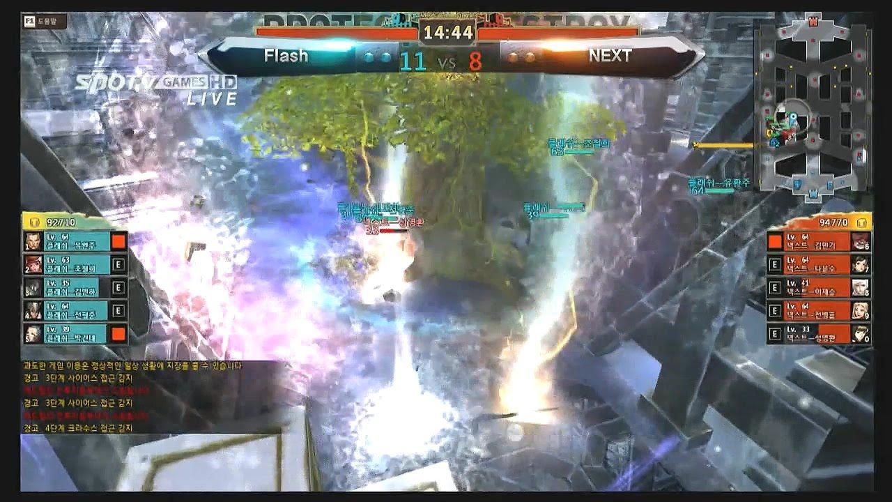 [액션 토너먼트 2014/15 WINTER] 사이퍼즈 8강 1세트 NEXT vs Flash -EsportsTV
