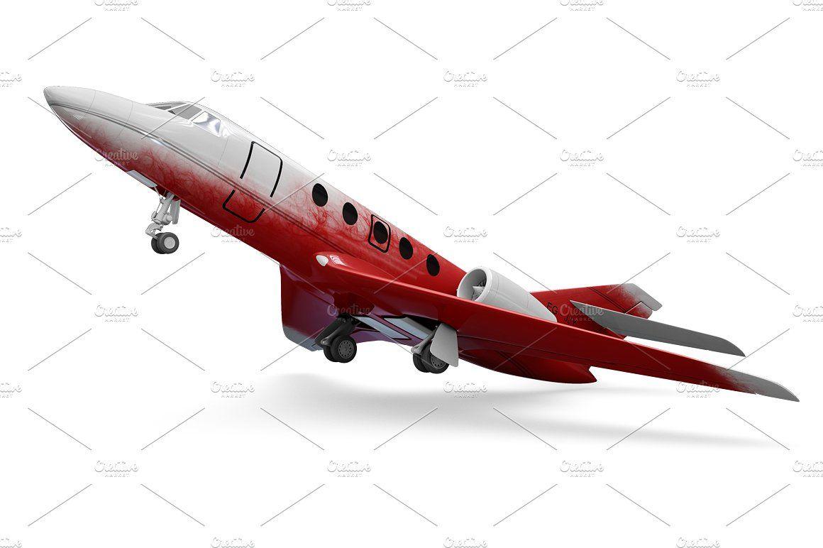 Jet Airplane Mockup Mockup Artwork Images Personal Presentation