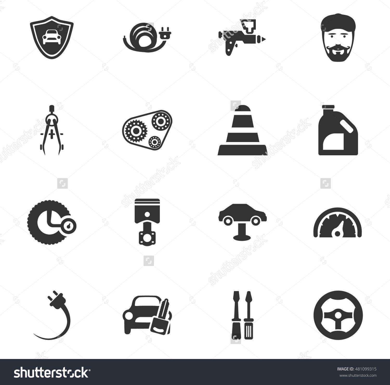 Car service maintenance icons set and symbols for web user car service maintenance icons set and symbols for web user interface biocorpaavc