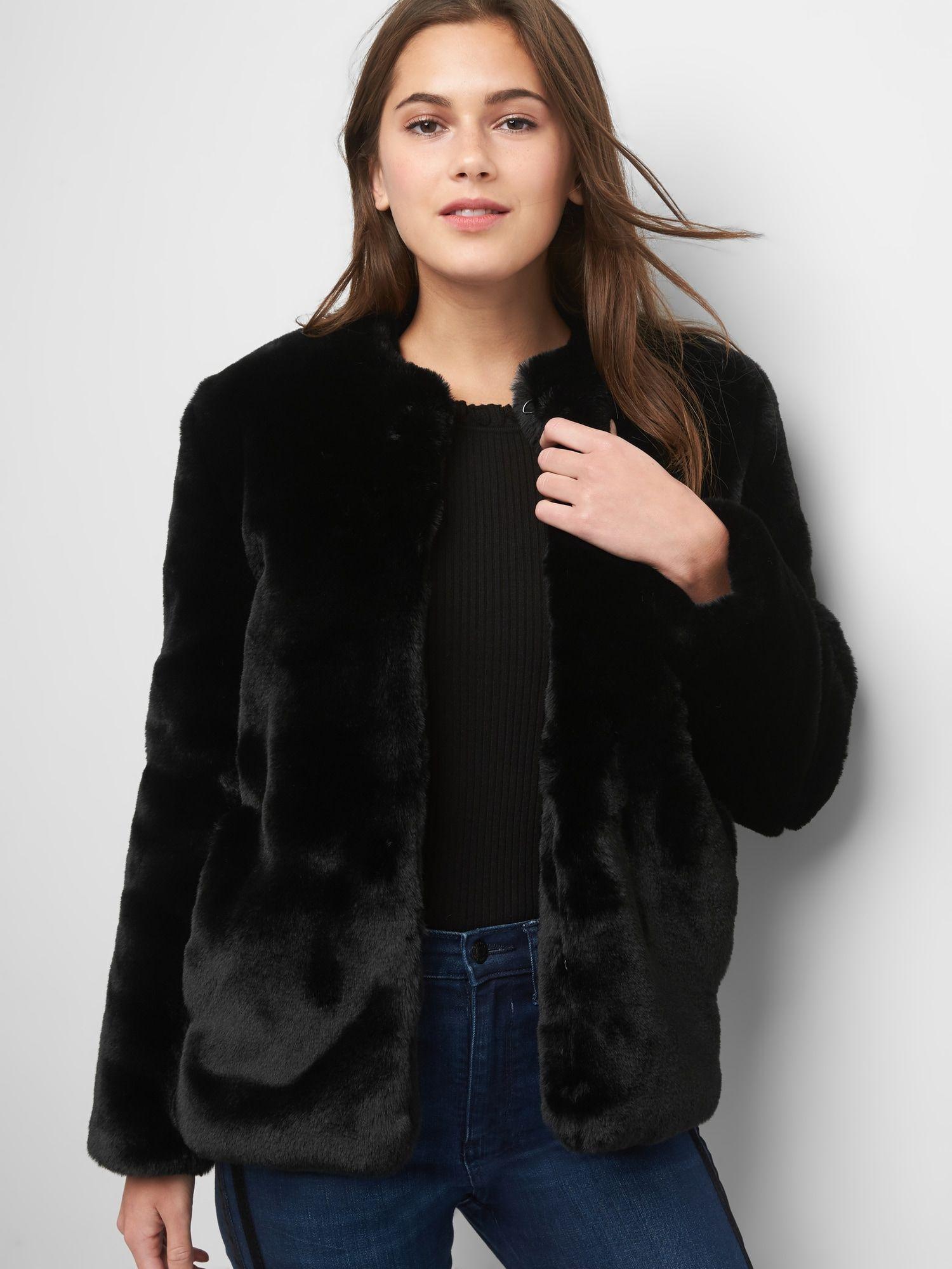 Faux Fur Jacket Coats Jackets Women Jackets Stylish Outerwear [ 2000 x 1500 Pixel ]