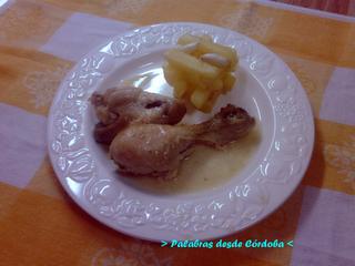 Desde Cordoba: A ratos sueltos.: Pollo al ajillo.