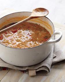Detox soup...yummy & filling..