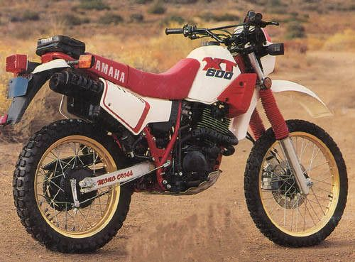 1989 yamaha xt600 memorable rides enduro motorcycle. Black Bedroom Furniture Sets. Home Design Ideas