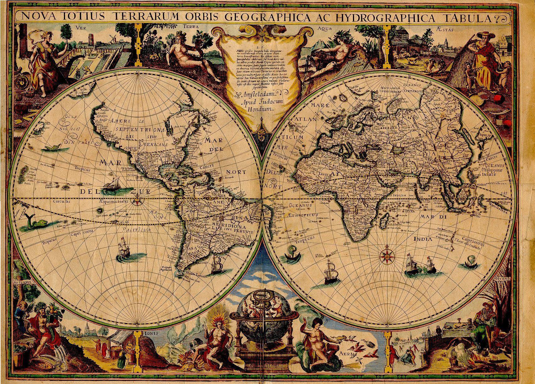 Maps, mapas, vintage, retro   Mapa Mundi, Globo Terraqueo ...