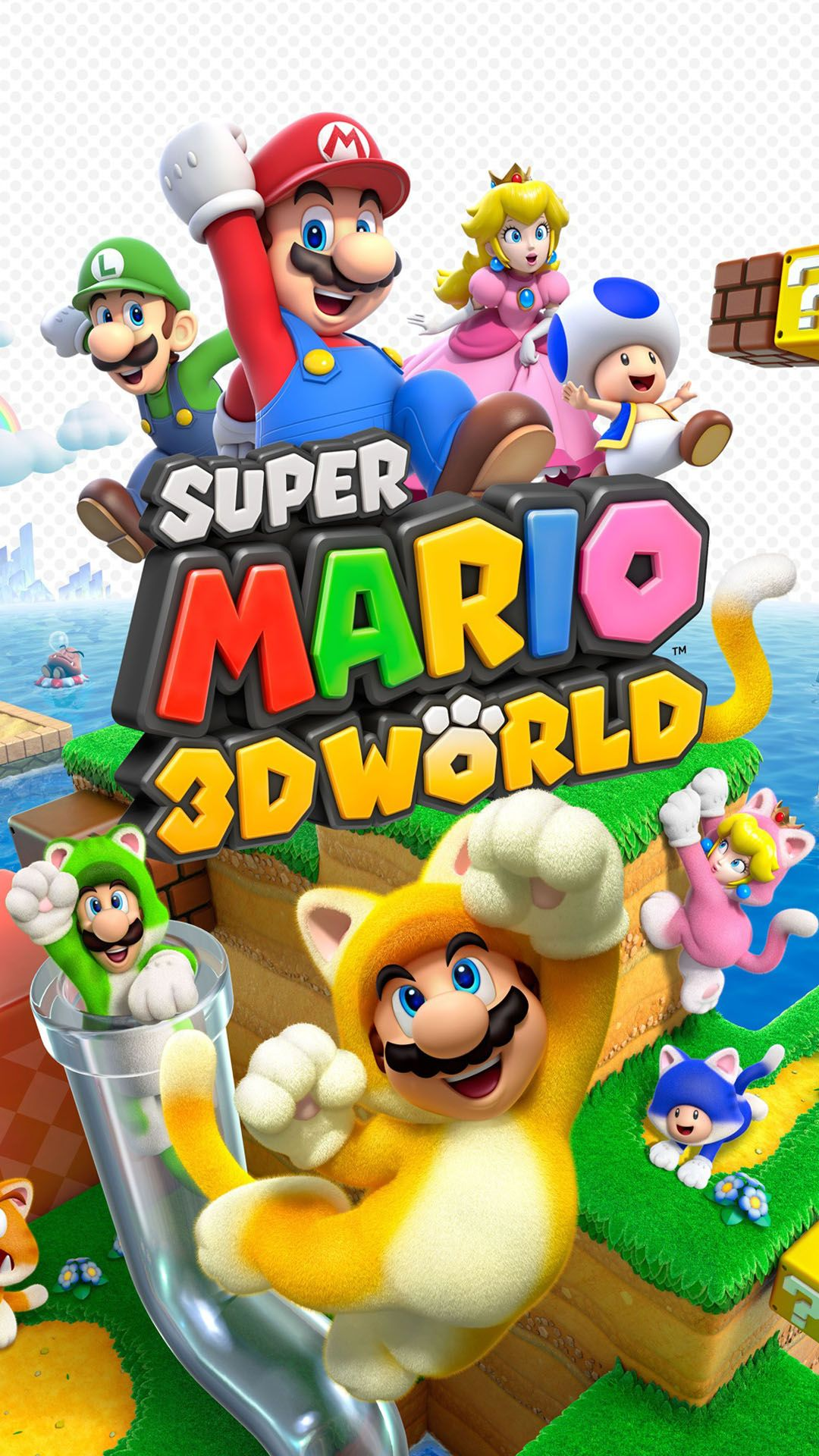 Hd Super Mario 3d World Mobile Wallpapers 1080x1920JPEG Image 1080 X 1920 Pixels